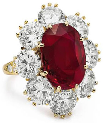 The Collection of Elizabeth Taylor becomes the most valuable jewelry auction in history.