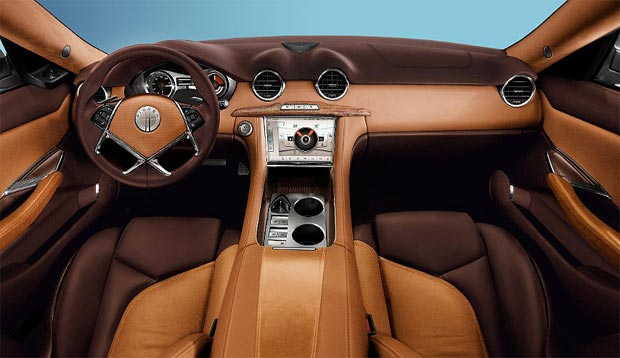 The range-extended electric Fisker Karma wins BBC Top Gear Luxury Car of the year