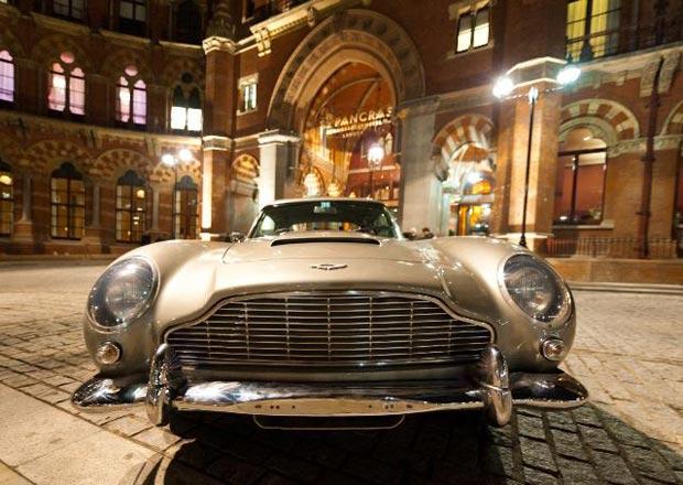 Lot 344, Aston Martin DB5 (ex George Harrison), Estimate £225-275k - on display in London - Photographer: Adam Jacob