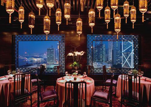 Mandarin Oriental, Hong Kong and Chef Man-Sing Lee