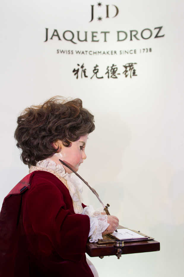 The Jaquet Droz Automatron 'The Writer' travels to China to announce a fabulous exhibition 4