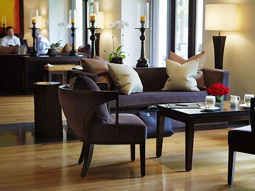 The wonderful lounge at the Club at Saujana Resort