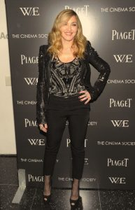 Piaget hosted the NY premiere of the 'W.E' film by Madonna at The Museum of Modern Art