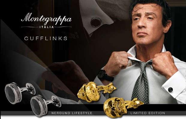 Montegrappa Italia introduces the Montegrappa Cufflinks range for the Modern Gentleman