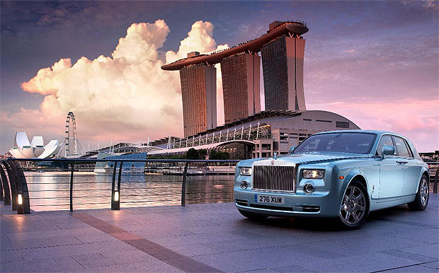 The Rolls-Royce 102 EX (Phantom Experimental Electric) Completes its world tour