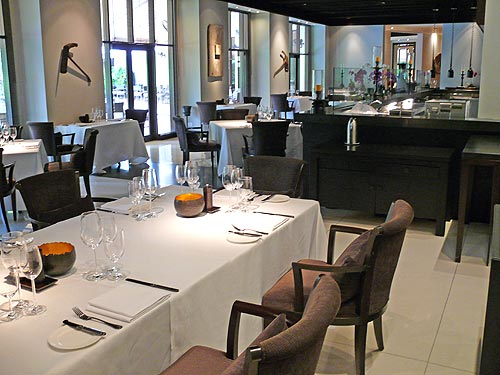 The main restaurant within the Club at Saujana with Chef Alexander Waschl