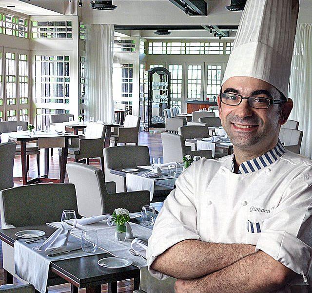 Chef Giovanni of the Senja Restaurant at Saujana