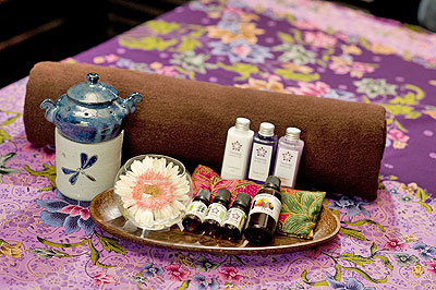 Spa Services at the Philea Resort in Malacca