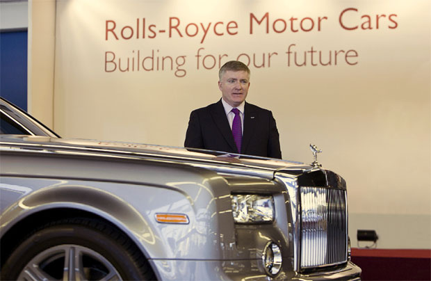 Mark Prisk, UK Business Minister, visits the Home of Rolls-Royce Motor Cars in Goodwood