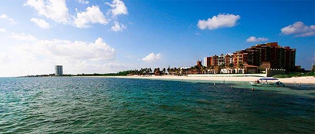 Beach at the Villa del Palmar Cancun