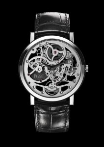 The Piaget Altiplano Skeleton Ultra-Thin watch boasts two world records