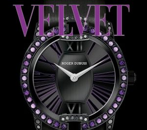 Introducing the new Roger Dubuis Velvet Amethysts and Spinels ladies watch.