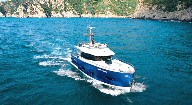 The Azimut Magellano 50 is a winner at the prestigious 2011 UIM Environmental Awards