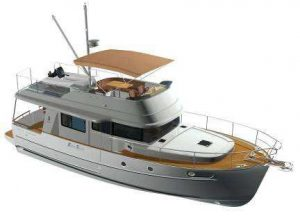 The Beneteau Swift Trawler 44 wins at the Motor Boat of the Year awards 2012