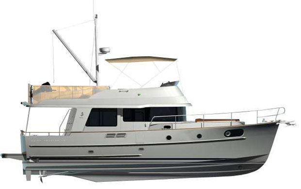 About the Beneteau Swift Trawler 44