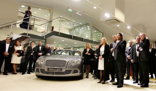 Bentley Cambridge on Milton Road in Cambridge opens its State of the art Showroom