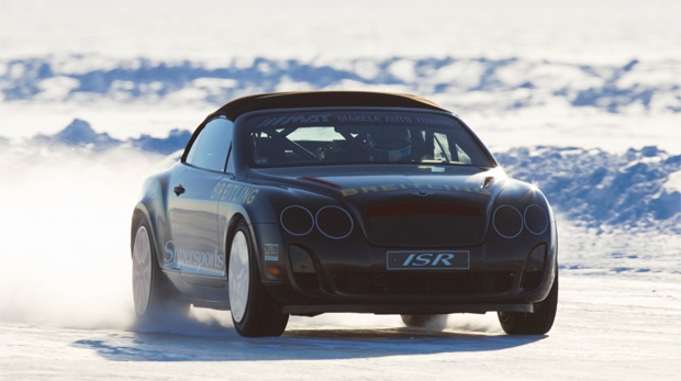 The Bentley Power on Ice adventure in Finland starts on February 5th 2012