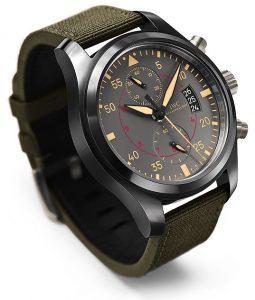 Two new Pilot's Watches from IWC Schaffhausen the Top Gun Miramar and Top Gun watches.