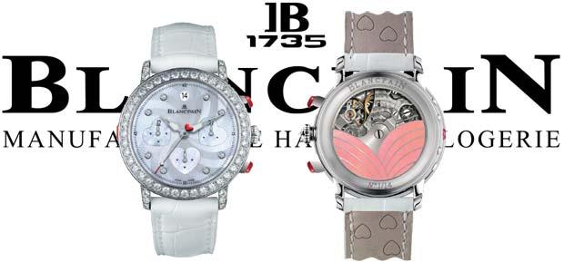 Introducing the Blancpain Saint-Valentin Chronograph 2012 diamond watch collection