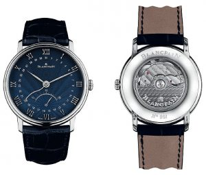 The Blancpain Villeret - A retrograde small seconds as an appetizer