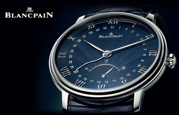 The Blancpain Villeret collection welcomes its first model featuring a flinqué lacquered dial.