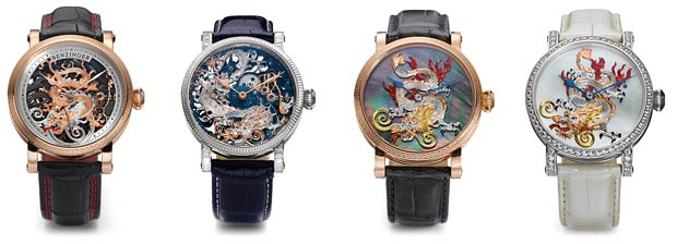 Grieb & Benzinger unveil an extraordinary limited watch collection to celebrate the Chinese New Year of the Dragon
