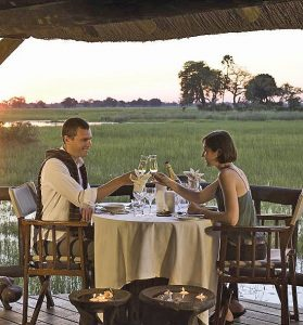 Eagle Island Camp, Botswana - Private Helicopter Flights & Secluded Picnic
