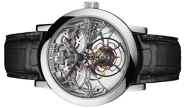 Another breathtaking timepiece from Franck Muller, the Giga Tourbillon Round Skeleton
