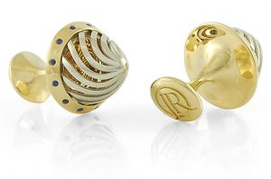 Jack Row has launched the Jack Row Architect Collection of luxurious solid gold and silver fountain pens and cufflinks accented with diamonds and sapphires
