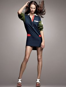 The lacoste 2012 spring collection is the first in the brands history to put the focus on women.