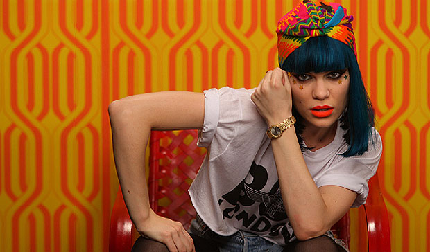 British pop singer Jessie J. chooses a piaget polo for her new video Domino