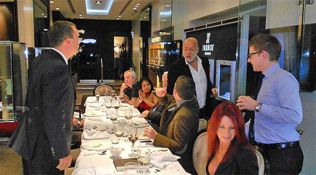 DeWitt host a very special evening for watch aficionados at Kronometry 1999 in London