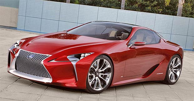 """The LF-LC is a striking design and breathtaking in its beauty. The team at Lexus quickly fell in love with this concept vehicle and it's rewarding to see that the industry agreed. Receiving the EyesOn Design Award is a great start to what promises to be a fantastic year for Lexus."""