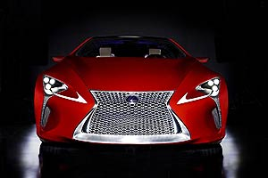 Lexus wow us again as they present the Lexus LF-LC Hybrid Sports Coupe Concept 1