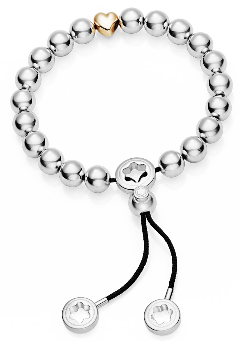 the montblanc valentines bead bracelet an expression of love from montblanc luxurious magazine. Black Bedroom Furniture Sets. Home Design Ideas