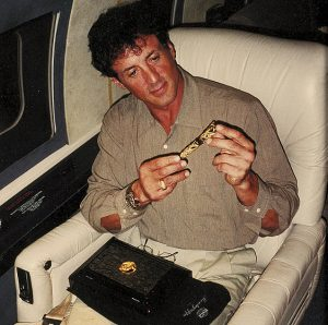 The Dragon also played a key role in forging an enduring friendship between Montegrappa and actor/director/artist Sylvester Stallone.