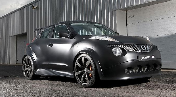 The Nissan Juke-R with a top speed of 160mph+ and 0-62mph in 3.7 seconds