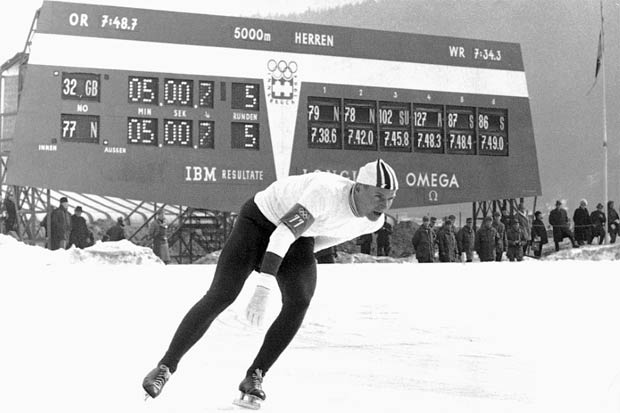Omega is proud to be the Official Timekeeper of the 1st Winter Youth Olympic Games