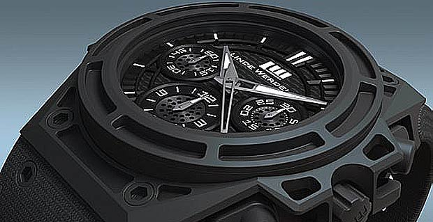 The new Linde Werdelin SpidoSpeed Steel Anthracite DLC Chronograph Watch