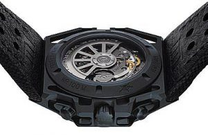 The Linde Werdelin SpidoSpeed Steel Anthracite DLC Chronograph Case