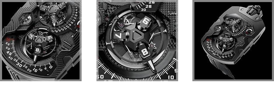 URWERK presents the UR-1001 Zeit Device Über Complication.