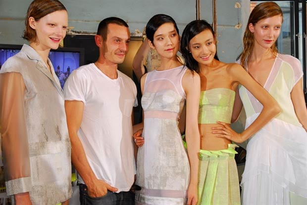 Jonathan Saunders is the the winner of this year's BFC/Vogue Designer Fashion Fund. Credit: Christopher James