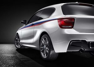 The BMW Concept M135i a 300BHP three door sports compact.