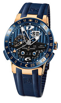 The Ulysse Nardin Blue Toro wrist watch a limited edition of 99 pieces.