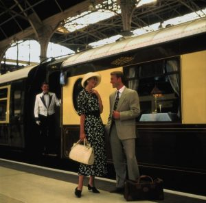 Watch some of Britains Greatest Sporting Event with Orient-Express day trains.