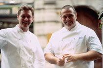 Hotel Splendido in Portofino will play host to three chefs, brothers Chicco and Bobo Cerea, and Pino Cuttaia