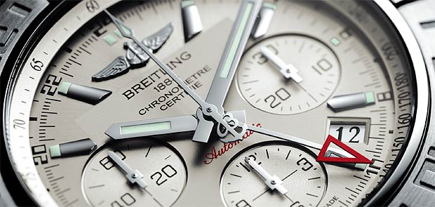 The Breitling Chronomat 44 traveler's chronograph in a new size suited to all wrists.