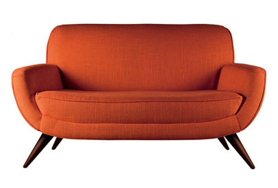 New Upholstery At Laura Ashley Combine Retro Designs With Comfort - Retro style sofa