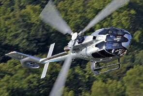 The Eurocopter Ec130 T2 With Optimized Performance