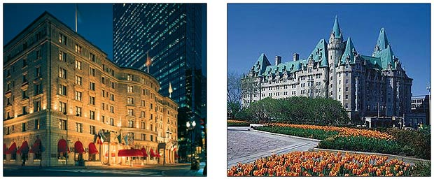 The Fairmont Copley Plaza in Boston & Fairmont Château Laurier in Ottawa Turn 100.